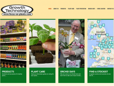 Focus on Plants WordPress Website